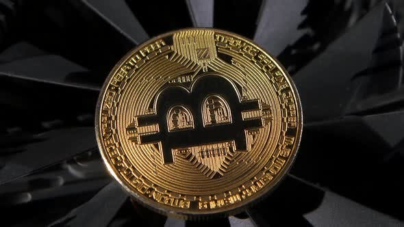 Thumbnail for Gold Coin Bitcoin Is Spinning on the Table