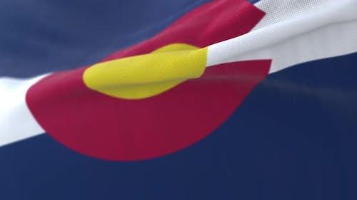 Flag of Colorado State
