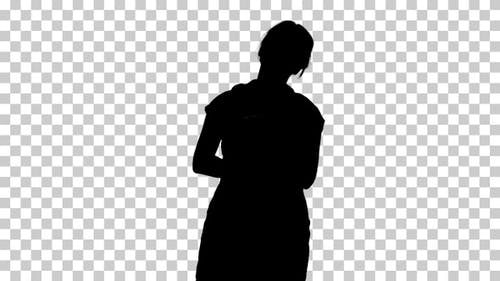 Silhouette Person, Alpha Channel