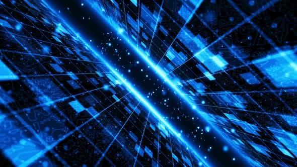 Thumbnail for Futuristic Digital Background