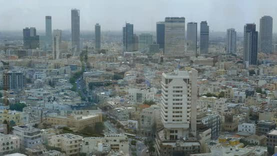 Thumbnail for Tel Aviv City View in Daytime, Israel