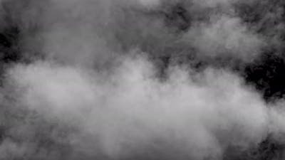 Smoke patterns filling the screen motion background. 3d render, 3d animation, al
