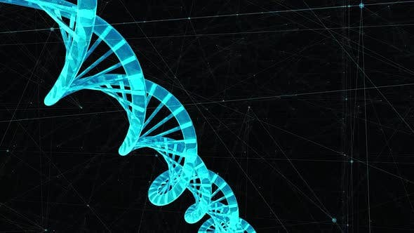 Thumbnail for Creation Of Human Dna Hologram In Cyber Computer Generated Space Hd