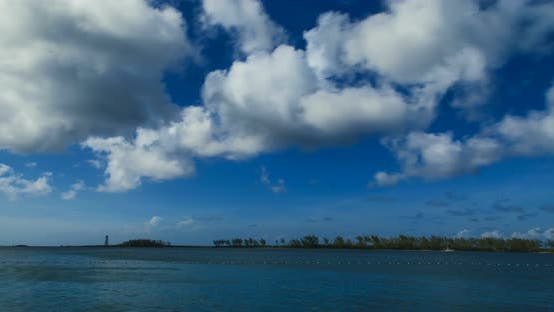 Thumbnail for Tropical Waters on a Sunny Day in The Bahamas 01 B