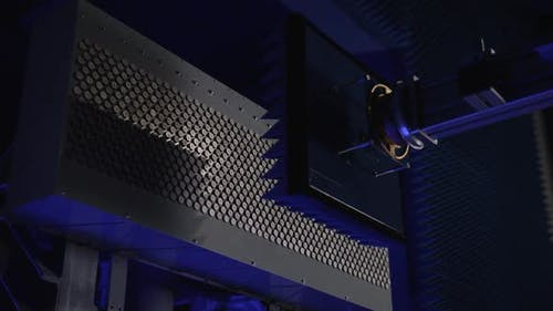 Testing of the Equipment in an Anechoic Chamber