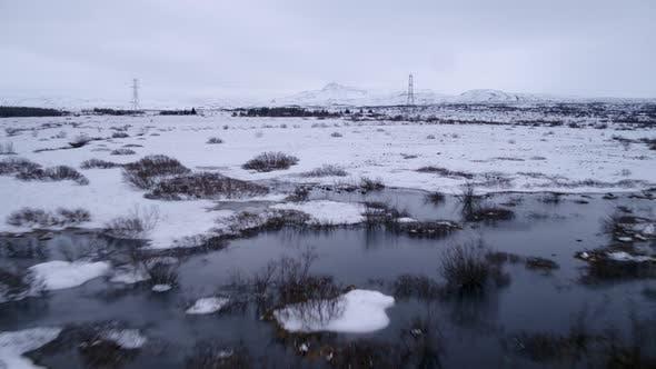 Thumbnail for Snow Covered Marsh Land