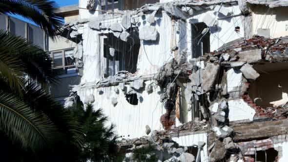 Thumbnail for Demolution Destruction An Old House Building 12