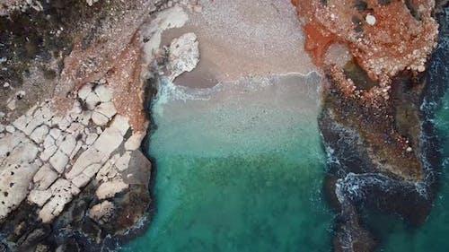Small Backwater Rocky Sea Coast