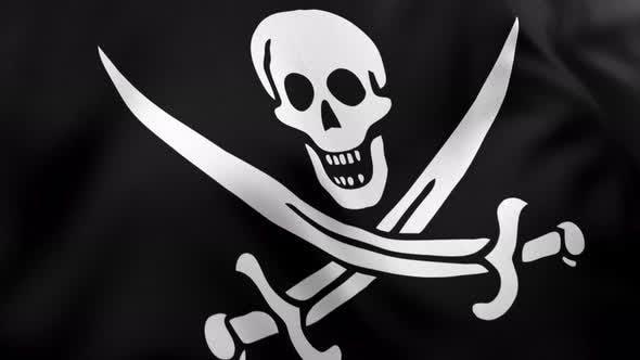 Thumbnail for Pirate Flag V3 - 4K