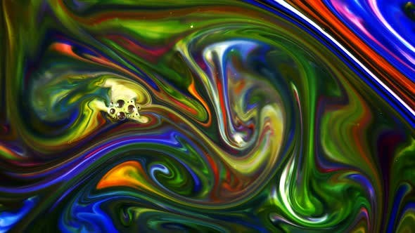 Thumbnail for Abstract Colorful Paint Liquid Artistic Movement 68