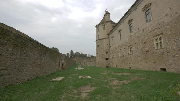 Thumbnail for Castle wall with turret at Fagaras fortress