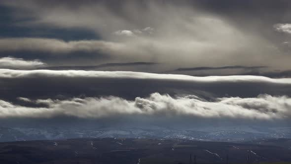 Natural Real Amazing Storm Clouds Flowing