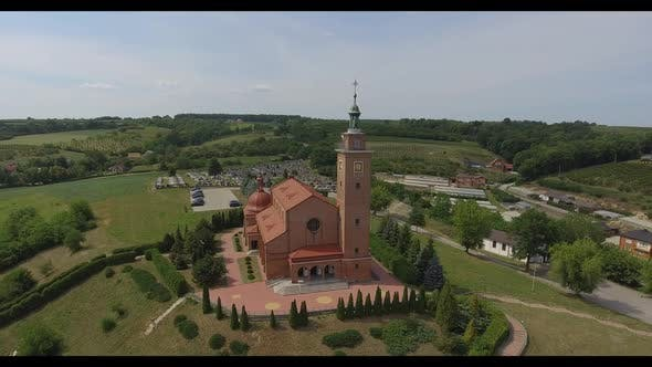 Thumbnail for Aerial View Of A Fine Church