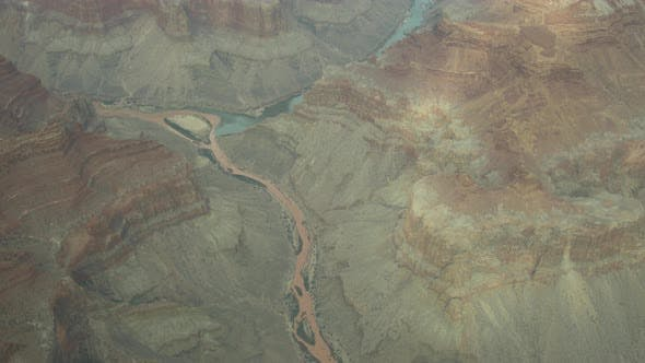 Thumbnail for Aerial view of the Colorado River