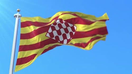 Girona Flag, Spain