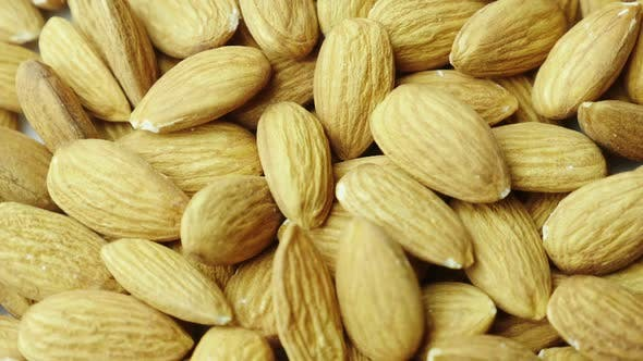Thumbnail for Kernels of Almonds, Close-up. Tasty and Healthy Food