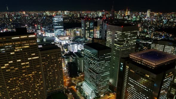 Tokyo Skyline. Buildings & Skyscapers