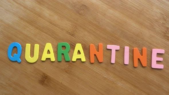 Word in Quarantäne stellen