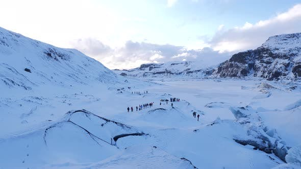 Thumbnail for Iceland Winter View Of Guided Tours Of Glaciers 1