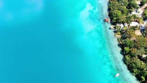 Thumbnail for Lake Bacalar Tropical Destination Aerial