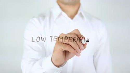 Niedrige Temperatur