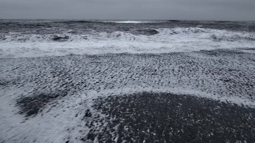 The Black sand Canvas