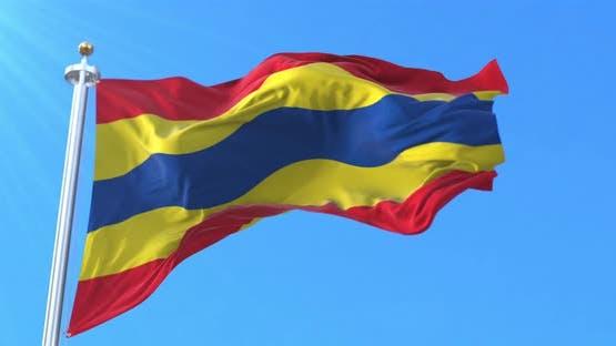 Overijssel Flag, Netherlands