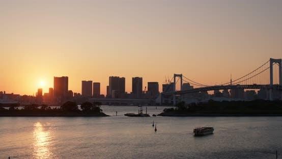 Thumbnail for Odaiba Tokyo Bay at night