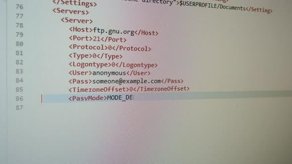 Thumbnail for Writing Programming Html Code