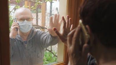 Communication of Elderly People During the Coronavirus Pandemic