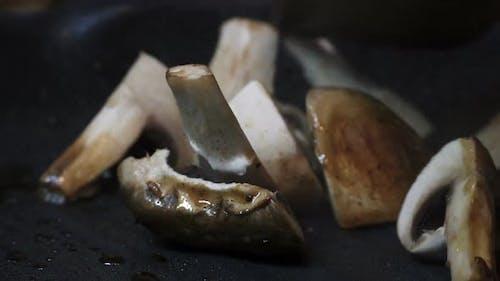 Mushroom in the Pan