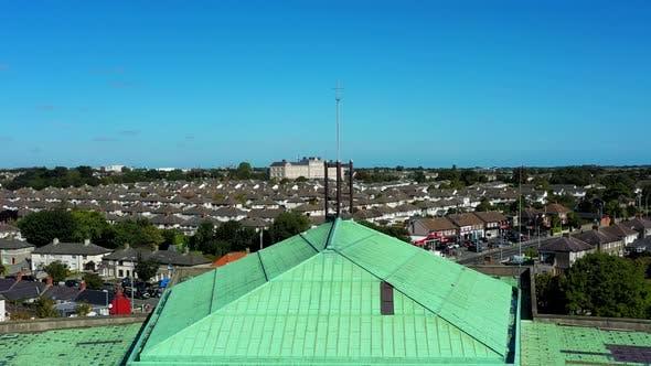 Thumbnail for Aerial Irish city view.