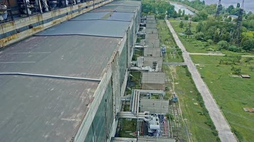 Power Plant Producing Heat