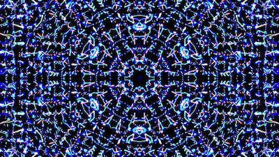Bright abstract light governing full color, kaleidoscope,for background