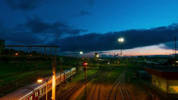 Thumbnail for The Railway Station at Night