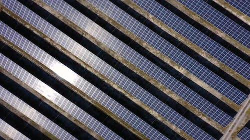 Photovoltaic Solar Power Panels Background
