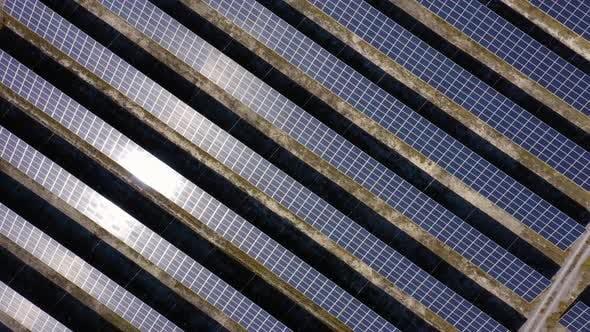 Photovoltaik-Solaranlagen Hintergrund