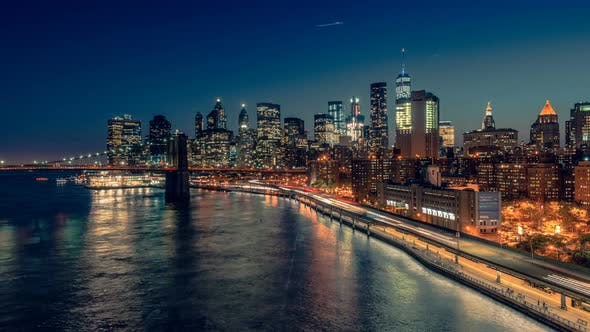 Thumbnail for New York City from Manhattan Bridge