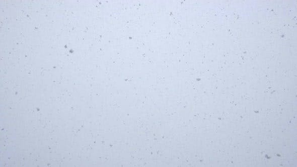 Thumbnail for Looped Seamless Footage of Fresh White Snow Falling