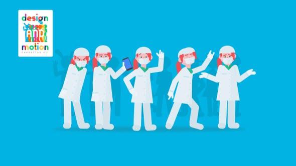Thumbnail for D&M Character Kit: Dentist Woman