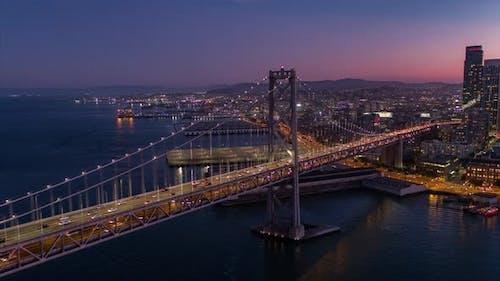 San Francisco At Golden Hour