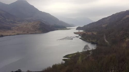 Loch in Scotland with a Small Fishery