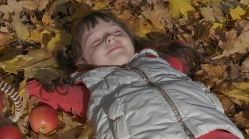 Dreams in Autumn Park