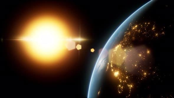Thumbnail for Sunrise Over the Earth