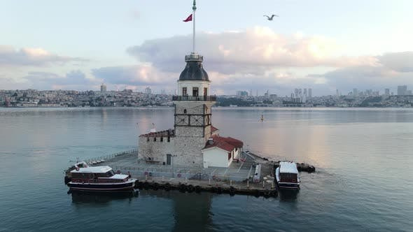 Thumbnail for Maiden Tower Drone Shot