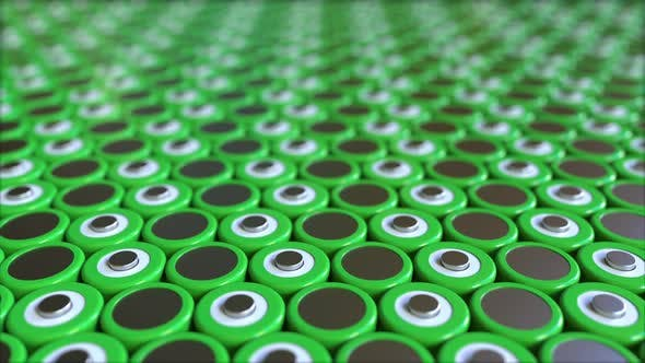 Thumbnail for Many Green Lithium-ion Batteries