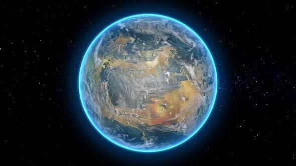 Thumbnail for Habitable Exoplanet Orbit Seamless Loop