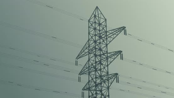 High-voltage electric towers
