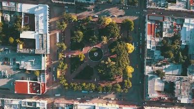 Valladolid Mexico Plaza 4k