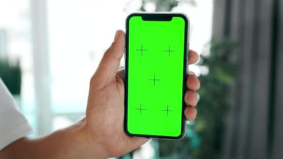 Thumbnail for Chromakey Smartphone in Hands Indoors